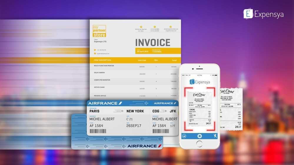 Expensya fait son entrée dans les Mobile Business Apps d'Orange