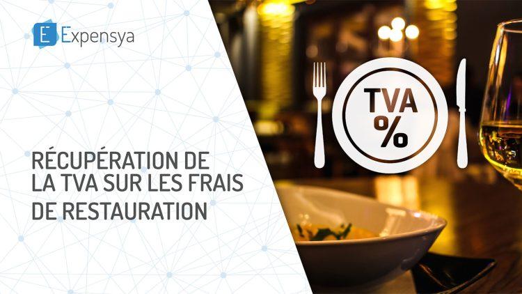 Récupération de la TVA sur les frais de restauration