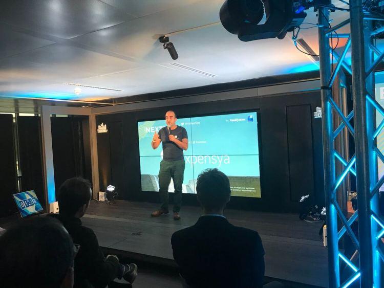 Pitch de Karim JOUINI CEO et co-fondateur d'Expensya au Prix Next'Step - vidéo Youtube ici