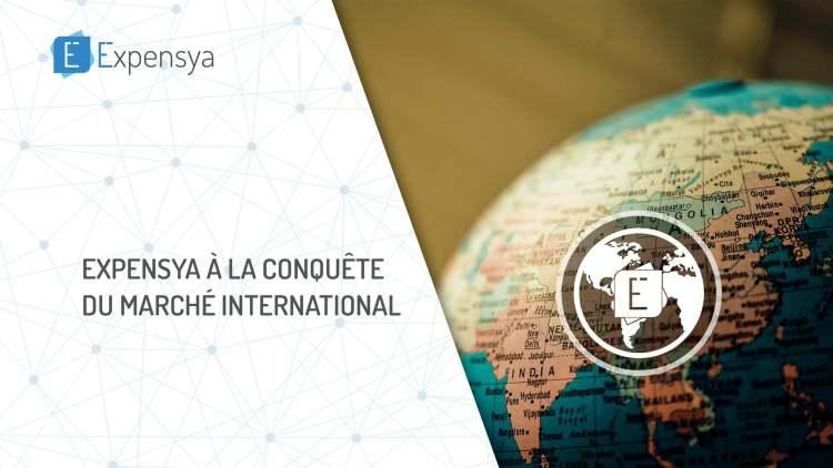 Expensya à la conquête du marché International !