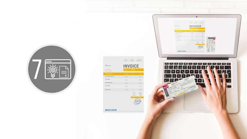 expense reports software features