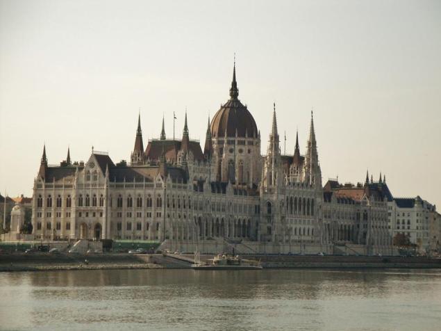 Parliament of Budapest.