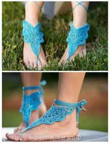 Barefoot Sandals Crochet Pattern