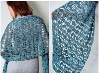 Cozy Season Shawl Crochet Pattern  Expression Fiber Arts ...
