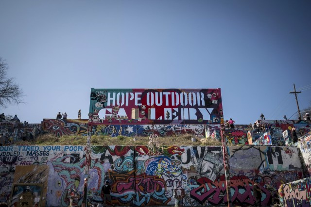 Hope Outdoor Gallery in Austin, TX