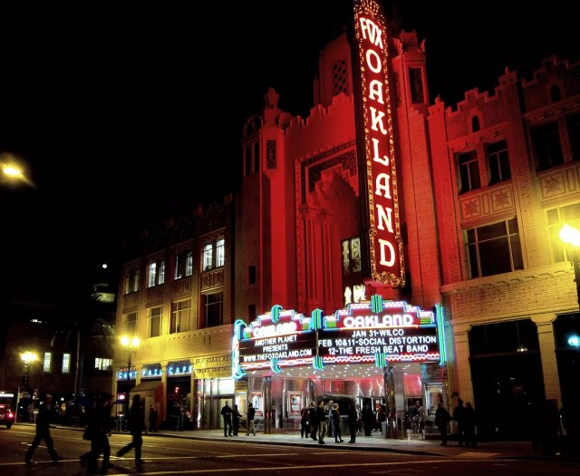 Fox Theater in Uptown Oakland, CA