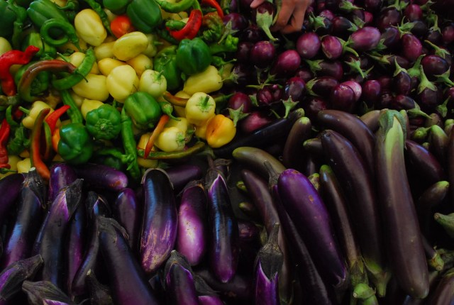 Vegetables at Culver City Farmers Market