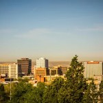 albuquerque new mexico skyline of downtown