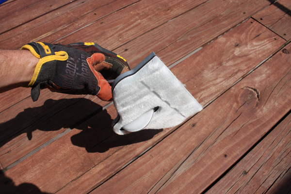Deck Stain Update from Extreme HowTo Blog  HomeRight