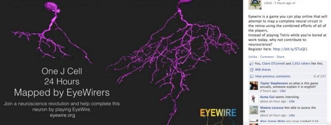 EyeWire Facebook IFLS