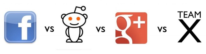facebook vs reddit vs google plus
