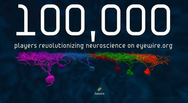EyeWire, 100,000 players
