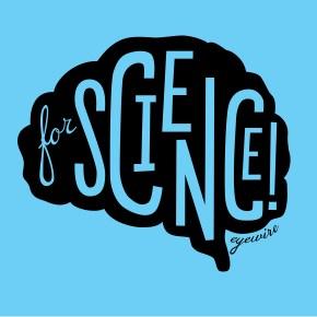 eyewire for science, for science, for science blue, ForScience black on light blue