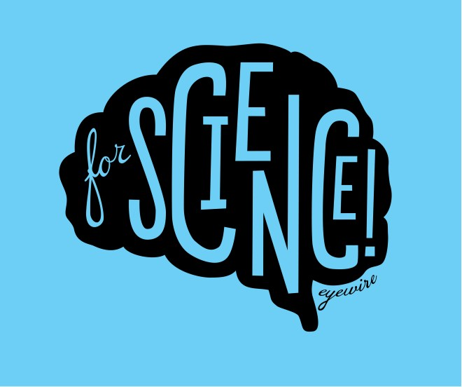 eyewire for science, for science, for science blue, ForScience black on light blue