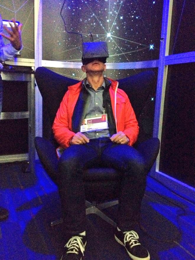 Jeff Bezos brighter in Oculus