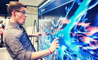 Whoa Neurons, Joe Hanson, US Science and Engineering Expo, neurons, 3D