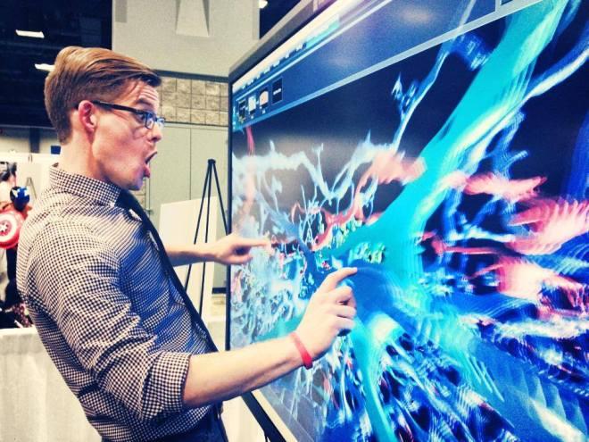 Whoa Neurons, Joe Hanson, US Science and Engineering Expo, neurons, 3D