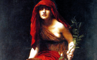 Pythia, Oracle of Delphi, Greek, Greece