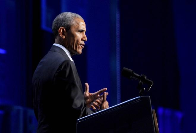 Michael Henninger/Post-Gazette, Obama Frontiers Conference
