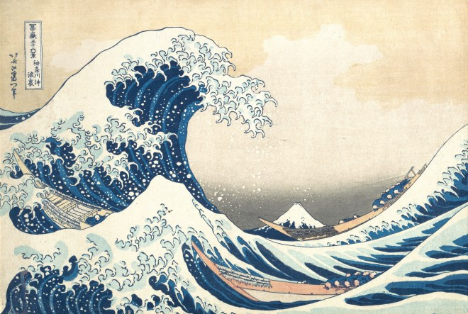 tsunami, Hokusai, Eyewire, citizen science