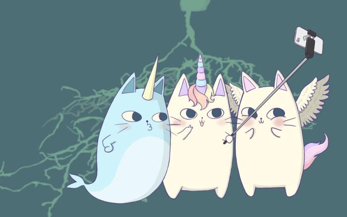 Narwhal, unicorn, pegasus, nurro