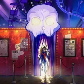 eyewire, citizen-science, grim, haunted carnival