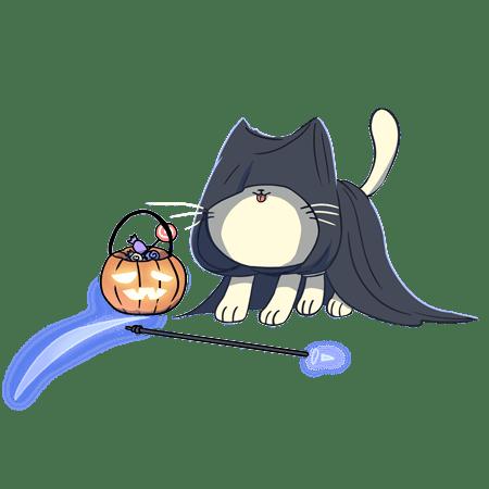 nurro, halloween nurro, science, nurroscience, heroes, eyewire characters, cute cat, fat cat, cat costume