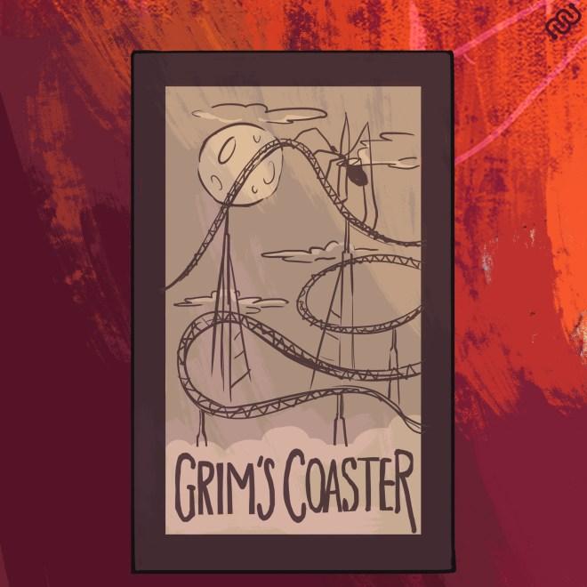 Grim's Haunted Carnival, Eyewire, citizen science, Halloween, roller coaster