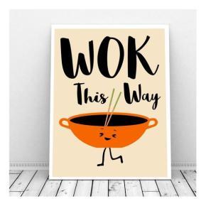 valentine's card, funny, humor, pun, lol, dad jokes, punny, geek, geeky card, wok this way, wok