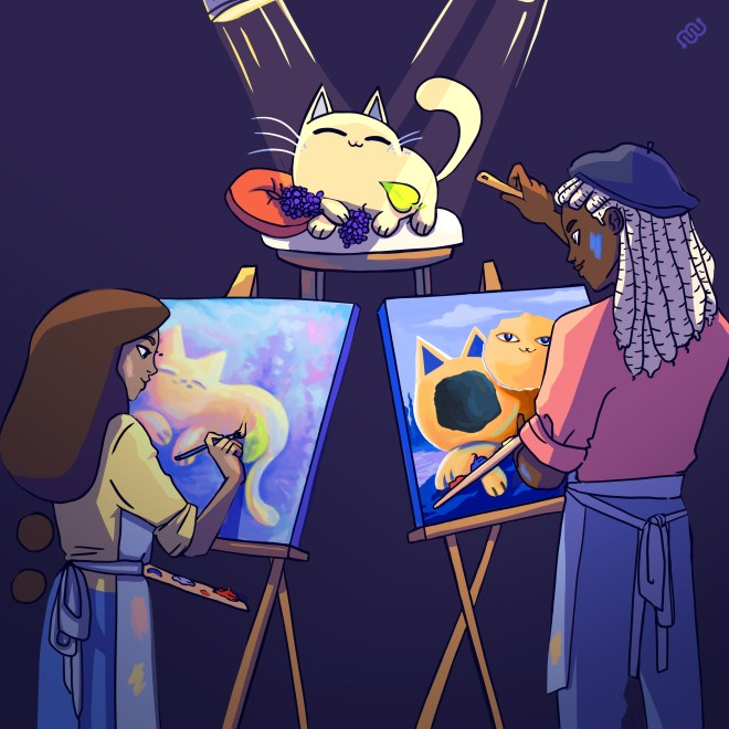 impressionism, surrealism, art, art history, competition