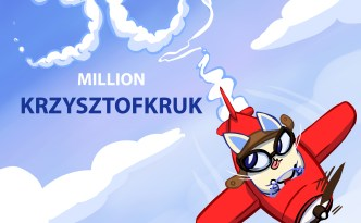 Eyewire, community, congratulations, KrzysztofKruk, 50 million points