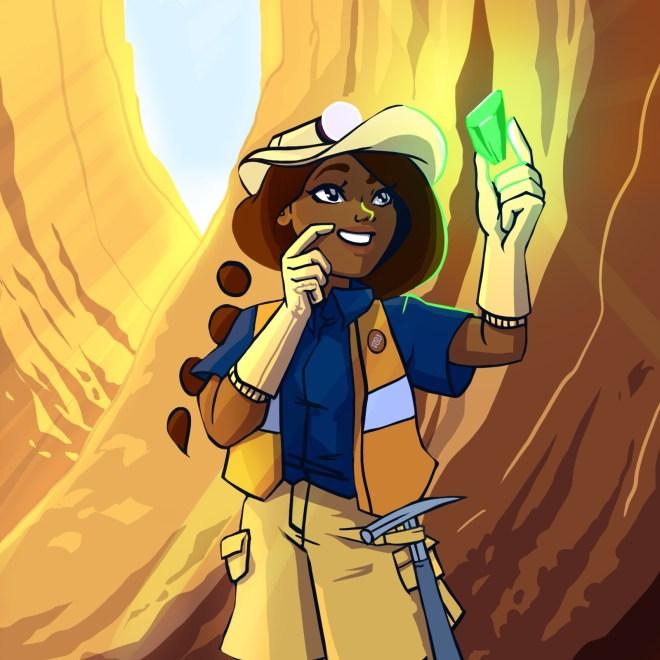 geology, Eyewire, citizen science, Eyewire Rocks, Rika, rocks, minerals, crystals