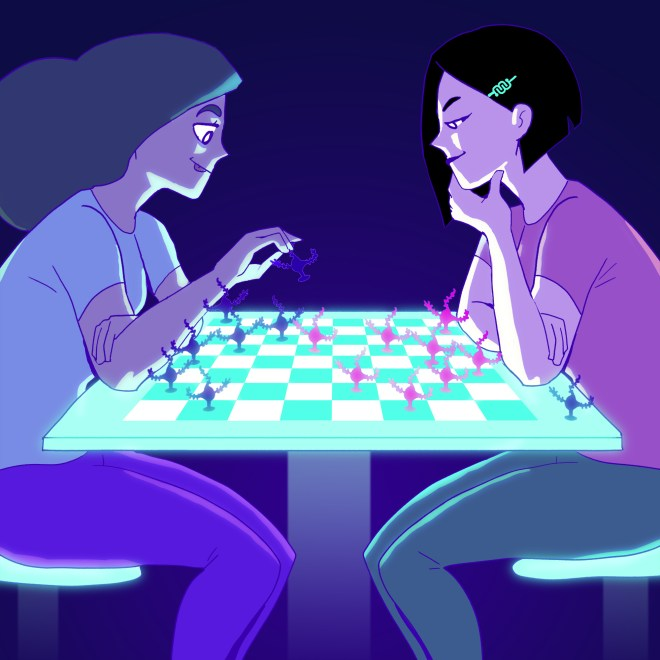 chess, board games, games, fun, eyewire, science, neurons