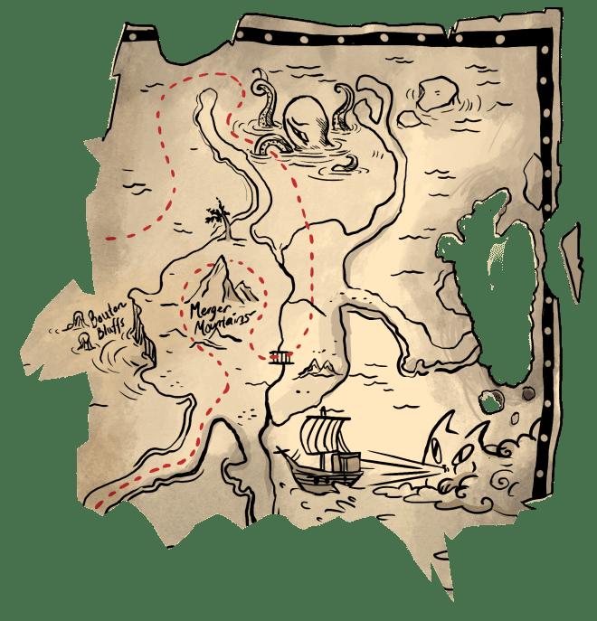 amacrine adventures, map, treasure, fun, science