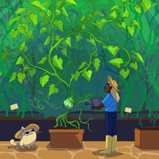 Garden of Eyewire, Brax, Nurro, eyewire, citizen science, botany, Daniela Gamba