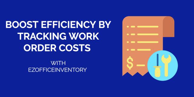 work order costs