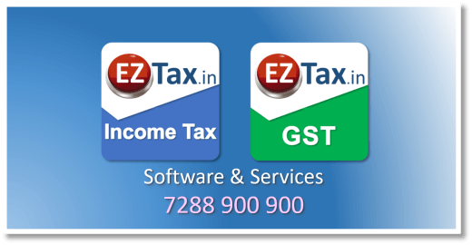 EZTax.in   Income Tax, GST, Accounting, Registrations