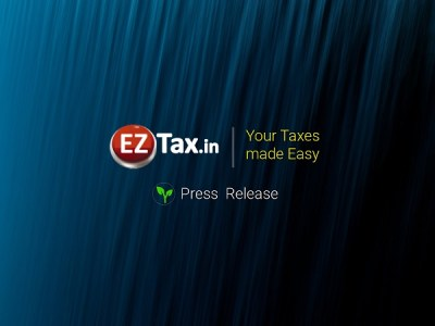 Non-filers Monitoring System | Press Release from EZTax.in