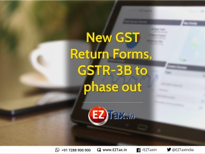 New GST Return Forms | GSTR-3B to phase out | EZTax.in