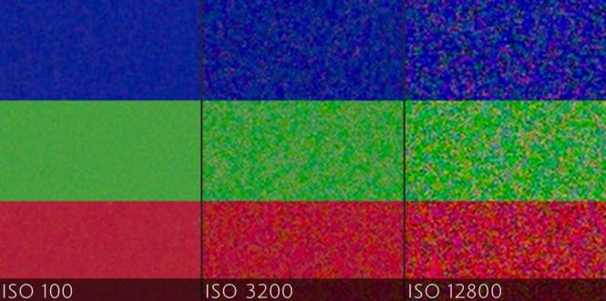 valori ISO si zgomotul de imagine