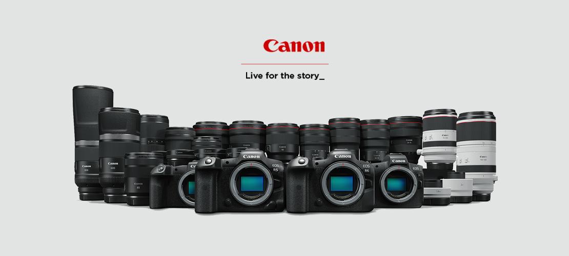 F64 prezintă Canon RoadShow Iunie 2021
