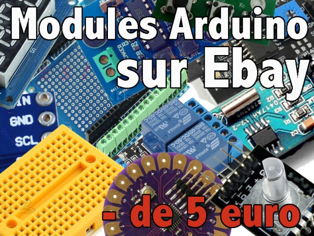 modules arduino 5euro