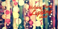 Holiday Party Lighting Ideas - Light Up Your Christmas Party