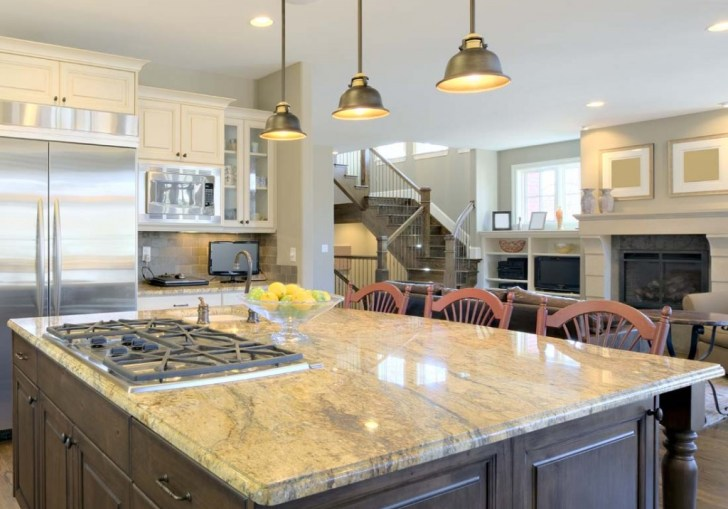 Kitchen Island Lighting Placement
