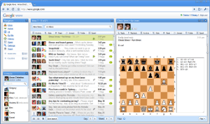 The 'Chess game' extension