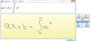 Reconnaissance manuscrite des formules mathématiques
