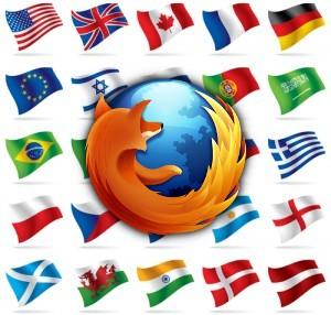 Firefox Multilanguages