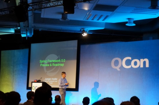 QCon London 2016 - Spring Framework 5 - Preview & Roadmap