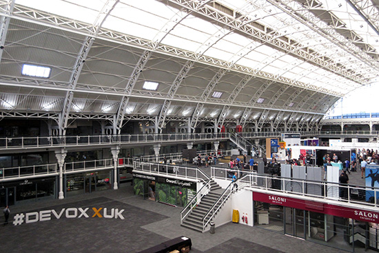 Devoxx UK took place in the Business Design Centre in London