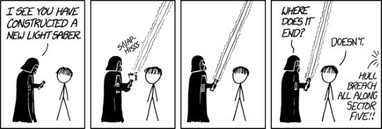 Mise à jour du sabre laser Star Wars...